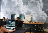 Maxi-tendance : on veut du papier peint nuage