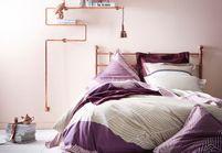 Chambre : on mise sur des murs colorés
