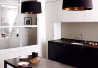 La cuisine noire et blanche comme vous ne l'avez jamais vue !