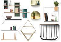 Les étagères design réveillent nos murs