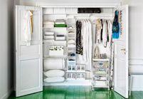 15 idées de dressings pour un petit appartement