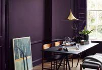 Le violet, une couleur has been ou à oser en déco ?