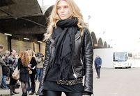 Fashion street: all black style