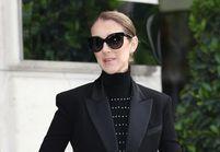 Céline Dion : son style gothique chic dans les rues de Paris