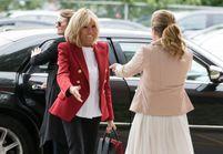 Photos - Brigitte Macron est une icône mode au Canada