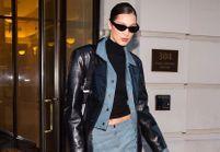Et si on osait le total look denim de Bella Hadid ?