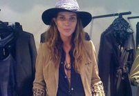 Le top Erin Wasson styliste pour Zadig&Voltaire