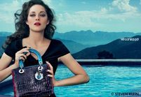 Marion Cotillard très glamour pour le nouveau sac Lady Dior