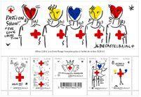 L'instant mode : les timbres JC de Castelbajac pour la Croix-Rouge