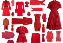 30 robes rouges qui font monter la température