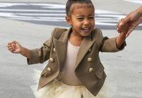 North West, 4 ans, mini-fashionista