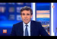 Vidéo : David Pujadas arrive en retard au JT du 20 heures