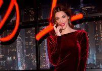 Iris Mittenaere sublime dans sa robe rouge à la soirée Cacharel