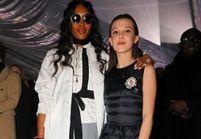 Naomi Campbell fan de Millie Bobby Brown de Stranger Things, à la Fashion Week de Milan