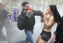 Agression des Femen : quatre personnes en garde-à-vue