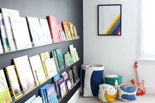 10 idées canons repérées sur Pinterest pour ranger les livres des enfants avec style