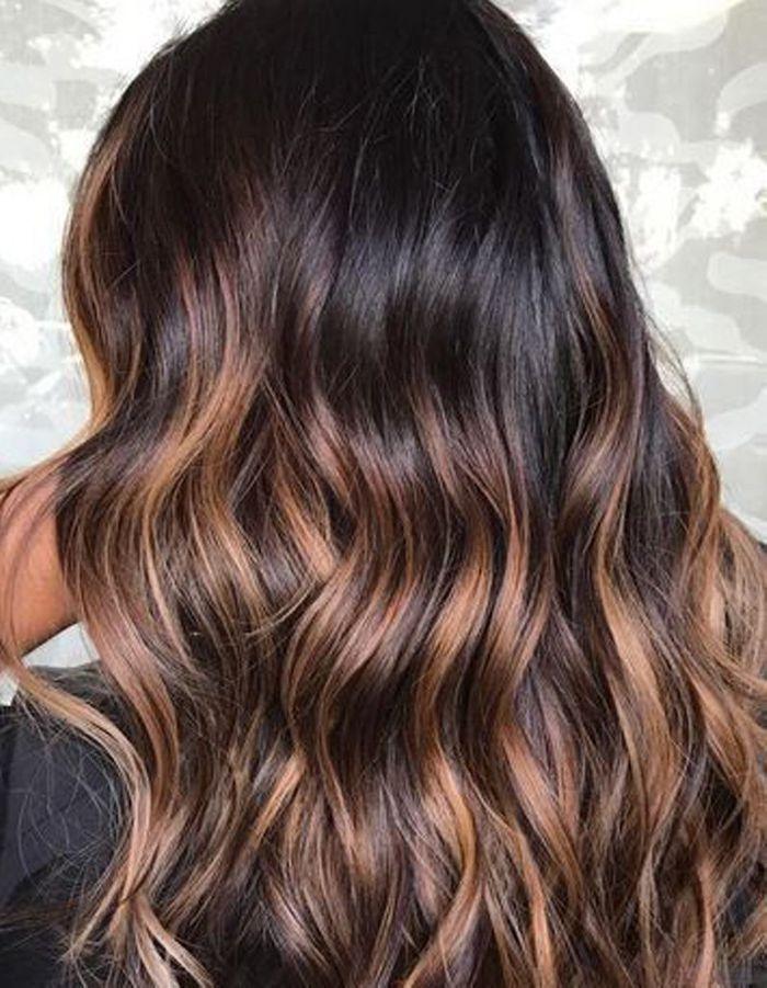 Fabuleux Ombré hair caramel - Ombré hair : les plus beaux dégradés de  ID51