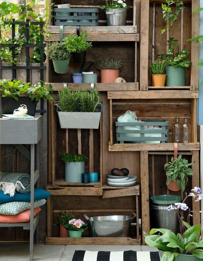 Frais 20 idées pour aménager un petit balcon - Elle Décoration GX21