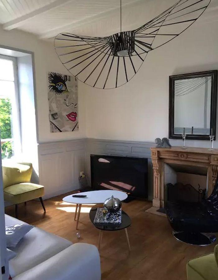 Maison bourgeoise rénovée en Bretagne