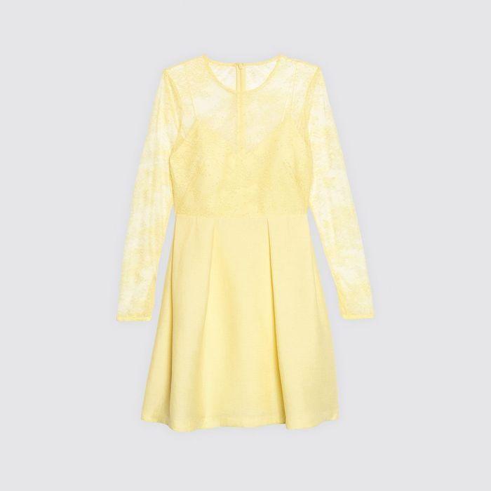 Robe jaune Sandro